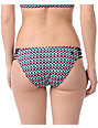 Reef Tribal Wave Retro Stripe Bikini Bottom