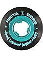 Ricta Nyjah Chrome Core Black & Teal 53mm Skateboard Wheels