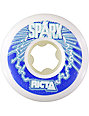 Ricta Sparx White & Black 55mm Skateboard Wheels