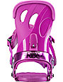 Ride VXn Pink Womens Snowboard Bindings