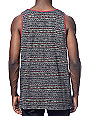 Roark Off Beat Black Tank Top