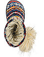 Rocket Dog Snowflake Native Print Slippers