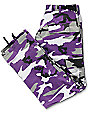 Rothco BDU Tactical Ultra Violet Camo Cargo Pants