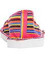 Roxy Costa Multi Stripe Shoes