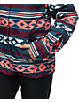 Roxy Jetty Blue Tribal Stripe 10K Snowboard Jacket
