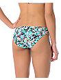 Roxy Sweet Tropics Teal Tie-Side Bikini Bottom