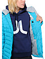 Roxy Toasty Insulator Blue Jacket
