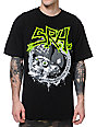 SRH Gross Skull Black T-Shirt