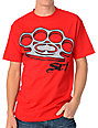 SRH Knuckle Up Red T-Shirt