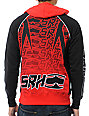 SRH Light Speed Black & Red Zip Up Hoodie