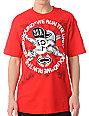 SRH Skull Flip Red T-Shirt