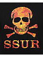 SSUR Substance Fire Black T-Shirt
