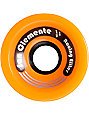 San Clemente Whirl Wind Orange 70mm 78a Skateboard Wheels