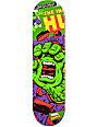 """Santa Cruz x Marvel Hulk Hand 8.26""""  Skateboard Deck"""