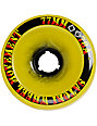 Satori 77mm Rasta Ring Longboard Wheels