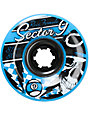 Sector 9 Race Formula 81mm Assorted Longboard Wheels