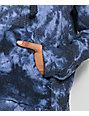 Senor Lopez Blue Tie Dye Poncho