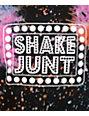 Shake Junt Box Logo Galaxy T-Shirt