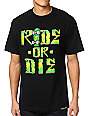 Shake Junt Ride Or Die Black T-Shirt