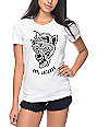 Sketchy Tank Flip Flop High White T-Shirt