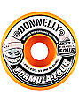 Spitfire Formula Four 53mm Adidas X Donnelly 99 Duro Orange Conical Skateboard Wheels