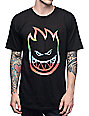Spitfire Serape Big Head Black T-Shirt
