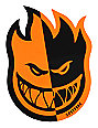 Spitfire Two-Tone Orange & Black Medium Sticker