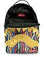 Sprayground Livest One Gold Shark Backpack