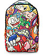 Sprayground Nickelodeon 90s Pile Up Backpack