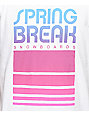 Spring Break Retro Classic White T-Shirt