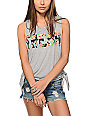 Starling Piper Palm Fresh Crop Muscle Tank Top