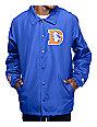 Starter Broncos Royal Blue Coaches Jacket