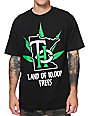 State Of Mind MN THC Trees Black T-Shirt