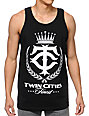 State Of Mind Twin Cities Finest Black Tank Top