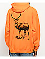 Stoney by Post Malone Big Buck Hunt Club Orange Hoodie