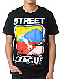 Street League Scratch Black T-Shirt