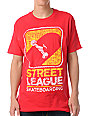 Street League Scribble Red T-Shirt