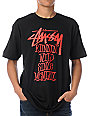 Stussy Runnin Wild Black T-Shirt