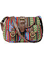 Super Trader Green Cross Body Ecote Purse