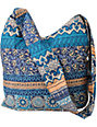 Super Trader Printed Blue Tote