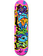 "Superior Cope 2 7.75""  Pink Skateboard Deck"