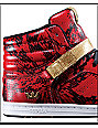 Supra Suprano High Red Snake Shoes