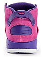 Supra Womens Skytop III Purple & Pink Leather Skate Shoes