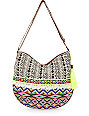 T-Shirt & Jeans Fest Multi Tribal Crossbody Purse