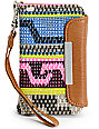 T-Shirt & Jeans Tribal Print iPhone Clutch Wristlet