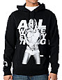 TMLS All White Everything Black Hoodie