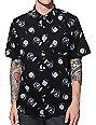 Teenage 8-Ball Button Up Shirt