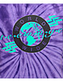 Teenage Worldwide Purple Tie Dye T-Shirt