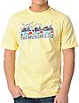 The Hundreds B-Movie Yellow T-Shirt
