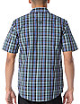 The Hundreds Cuyahoga Black Plaid Button Up Shirt